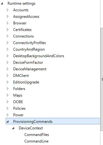 Windows 10 - Provisioning Packages - Install multiple Applications